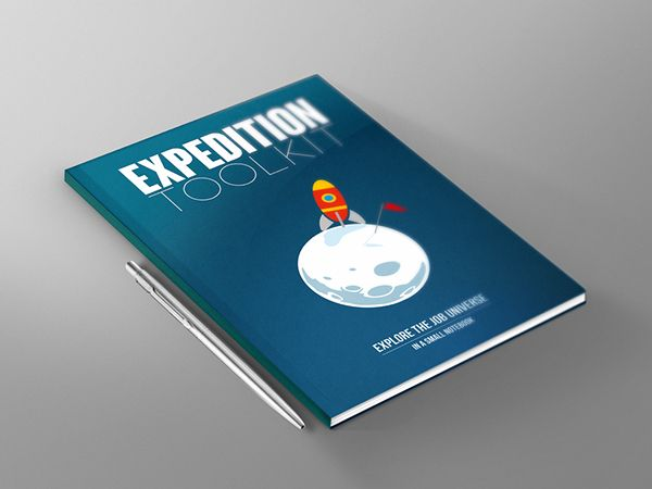 Notebook for the Pitch Bootcamp Expedition Kit