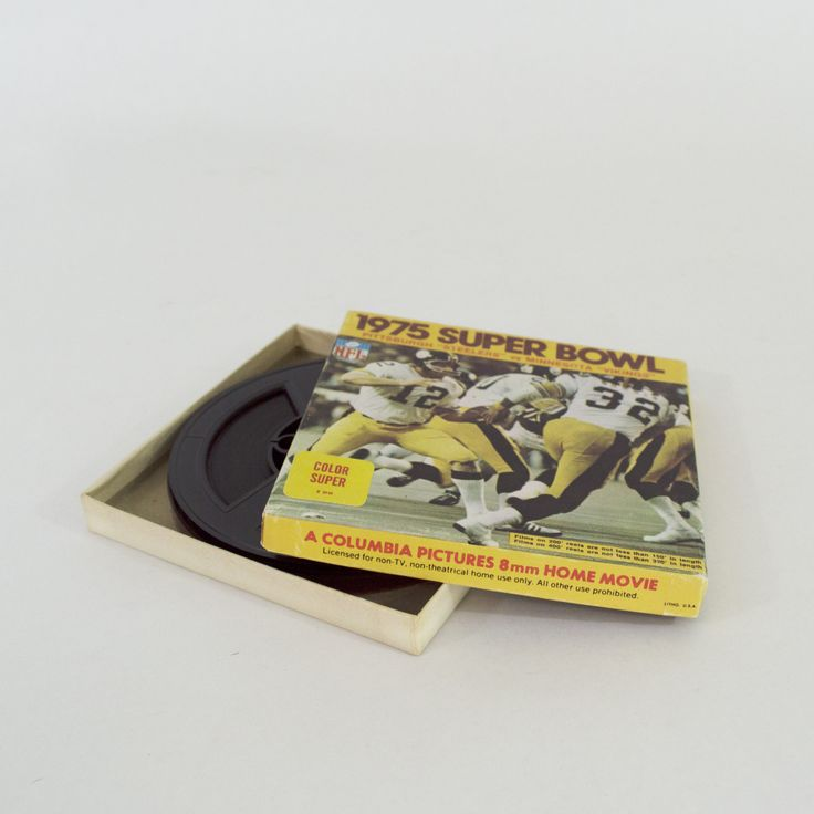 8MM 1975 Super Bowl Steelers Vs. Vikings