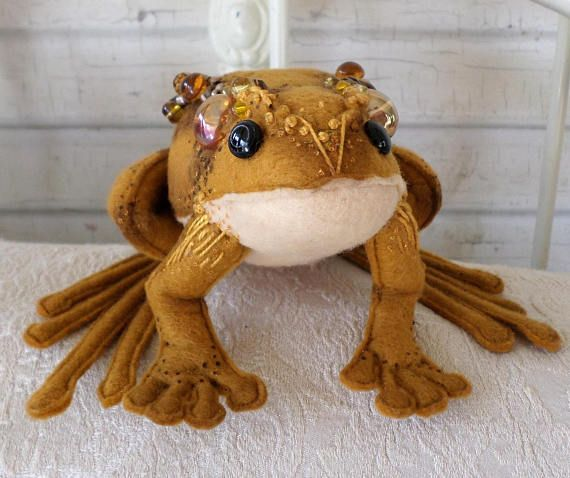 Frog and Toad Cloth Doll Pattern PDF Instant Download Fairy