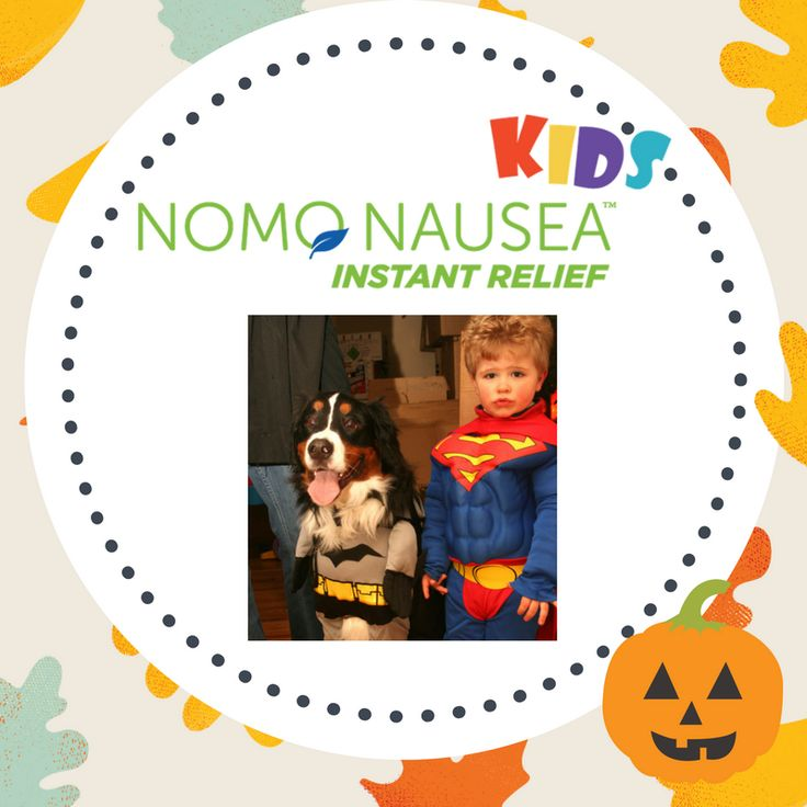 #Halloween is next week! Did you know any NoMo Nausea bands will go great with your child's costume. It also will be able to stop any tummy aches they might get from eating too much candy.