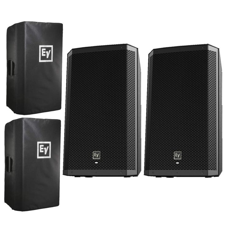 Electro-Voice ZLX-15P 15 ZLX Series Active/Powered DJ Speaker Pair  Covers Use