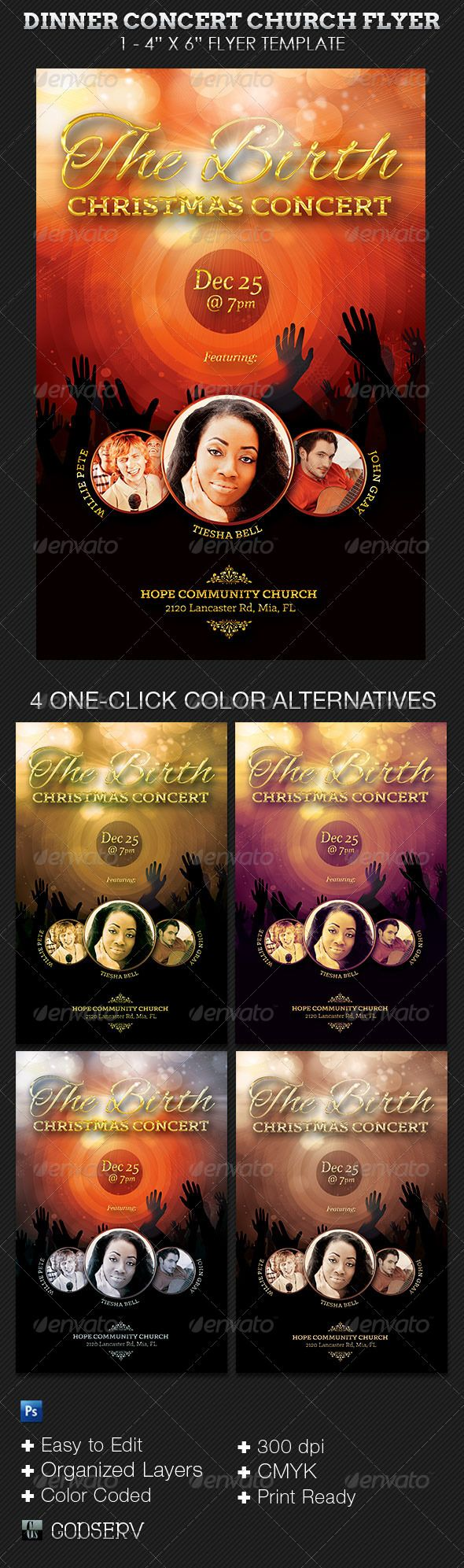 best ideas about concert flyer poster layout birth christmas concert flyer