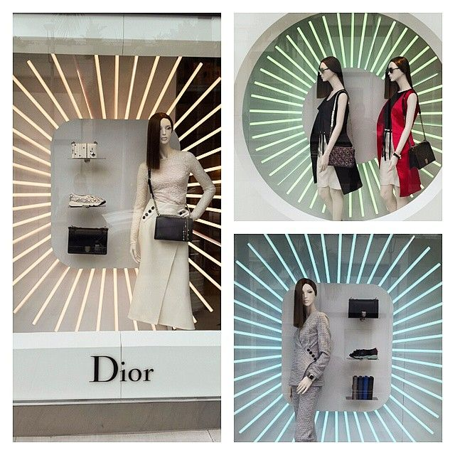 Projeto LUZ @projetoluz VITRINE DIOR COM ...Instagram photo | Websta (Webstagram)