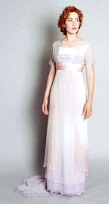 The beautiful flowy pastel dress that started all this titanic clothing love :)