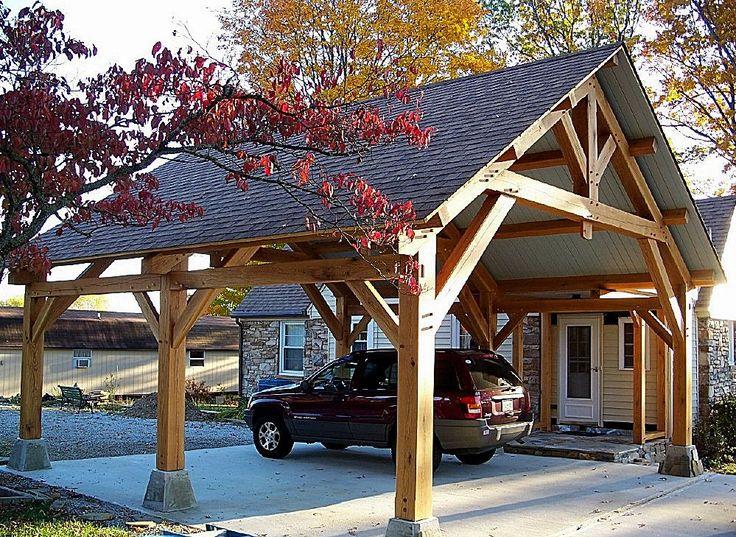 Le plus chaud Images pergola carport timber frames Astuces