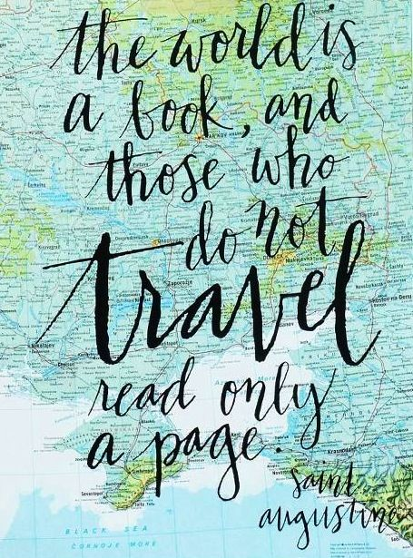 Travel quote.  I love exploring new places.  Traveling is a thrilling adventure & I'm open to going anywhere.