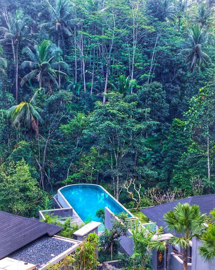 Come and meet me by the Falls at @samsaraubud ❤️  http://www.samsaraubud.com/  #samsaraubud #samsarasenses #ubud #bali #infinitypool #heatedpool #travel #holiday #paradise #vacation #islandlife #tropical #love #wanderlust #sanctuary #globetrotter