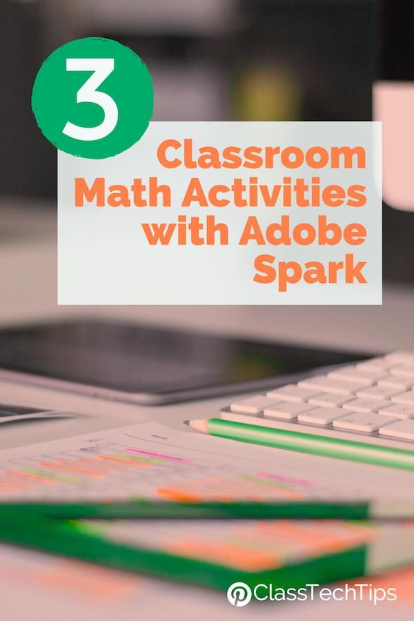 3 Classroom Math Activities with Adobe Spark 4