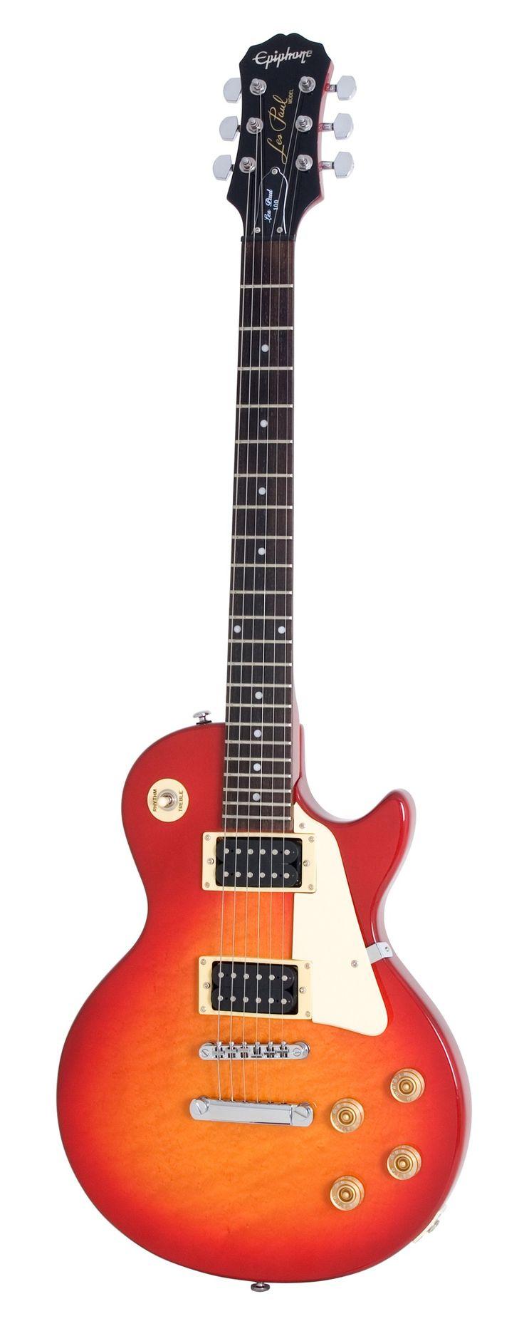 Epiphone Les Paul-100 Electric Guitar, Heritage Cherry Sunburst #epiphone #guitar