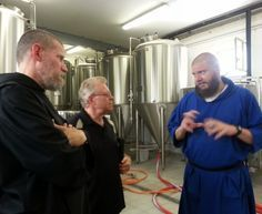 Tour of the Monks of Norcia Brewery, Italy. Visit the monks and try their beer with us - www.CatholicFaithJourneys.com #CatholicPilgrimage #craftbeer