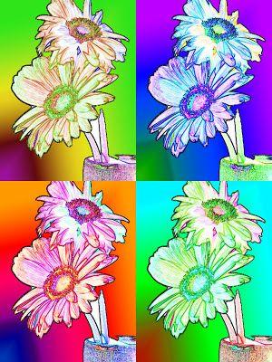 Bevorzugt 13 best pop art flowers images on Pinterest | Art flowers, Pop art  KE79