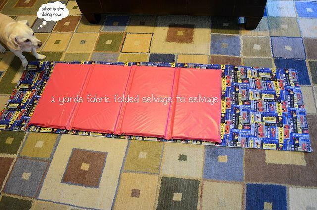 Kindermat cover tutorial