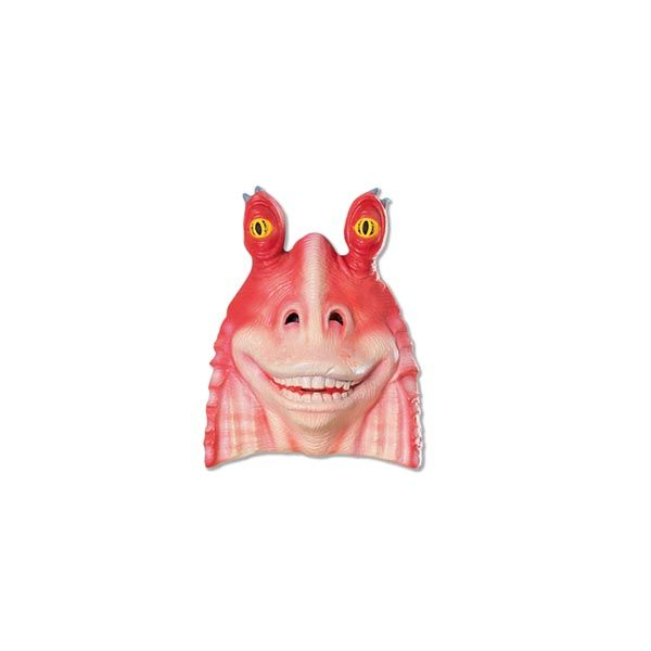 Standard Jar-Jar Binks Adult Mask - Star Wars Masks http://www.officialstarwarscostumes.com/jar-jar-binks-costumes/jar-jar-binks-masks/adult-jar-jar-binks-masks/992532