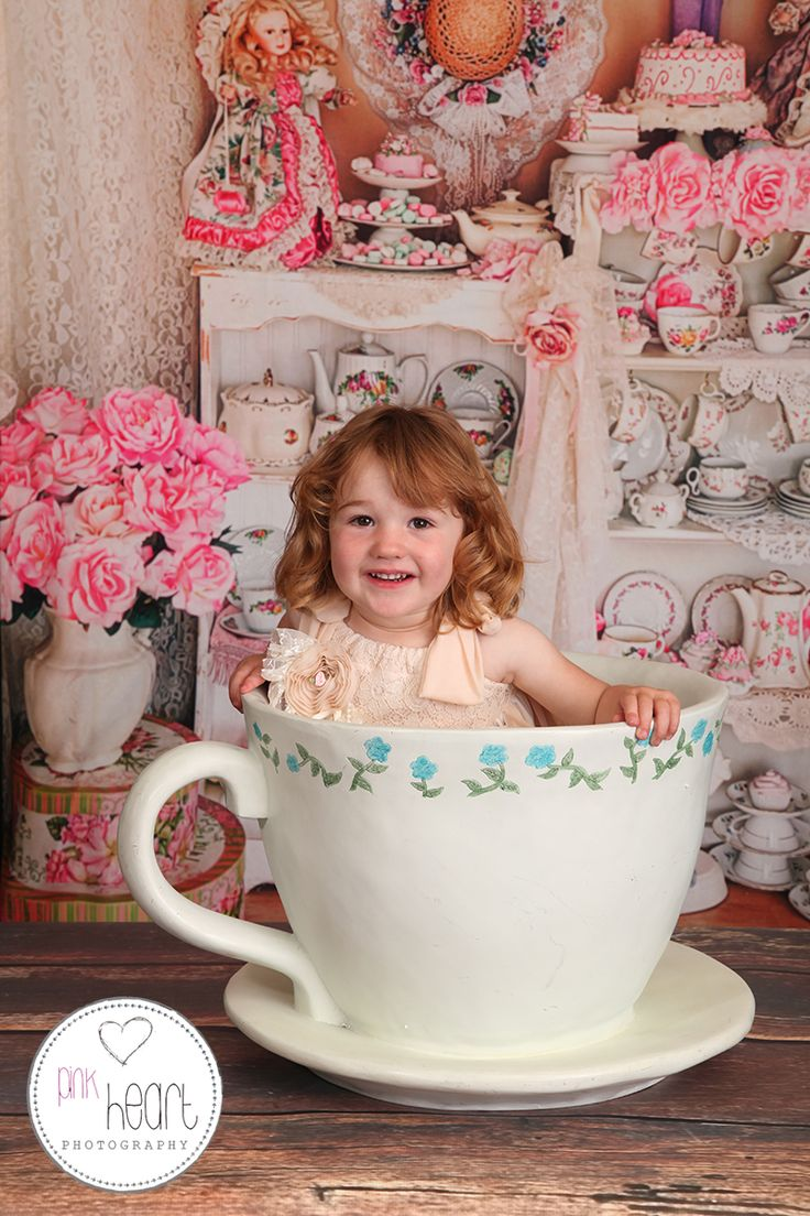 our giant tea cup prop!