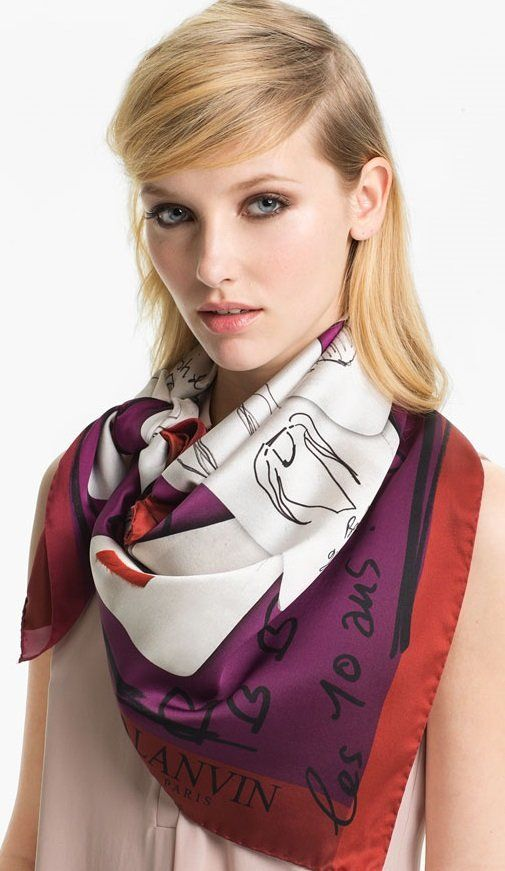 How to square wear scarf in hair advise to wear for everyday in 2019