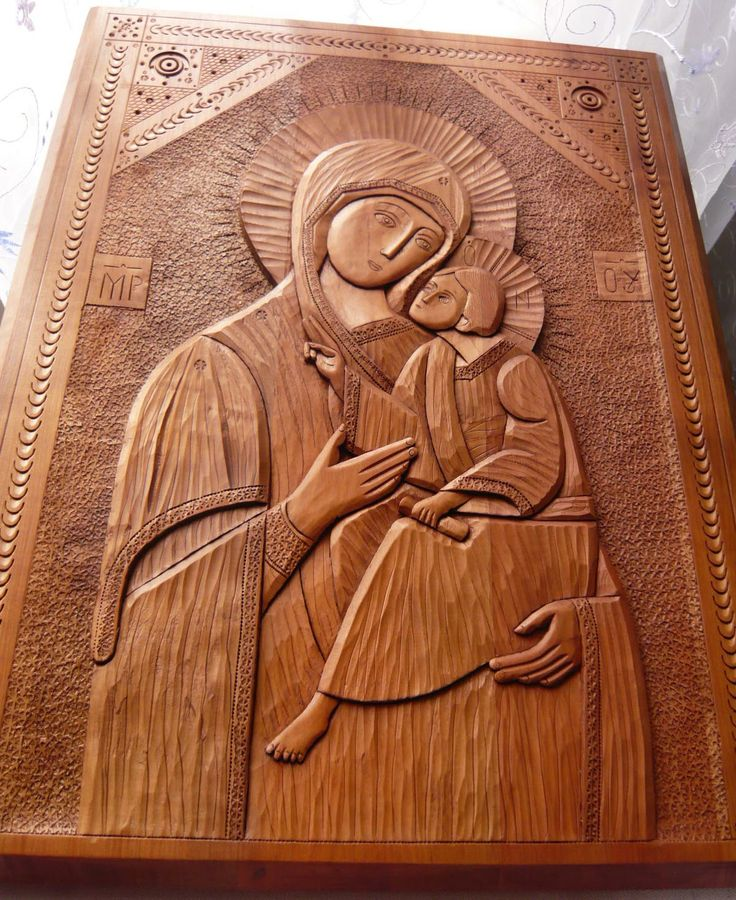 orthodox icon hands | ... Hand Carved Orthodox Church Icon Mother of Kazan. Orthodox Church Icon