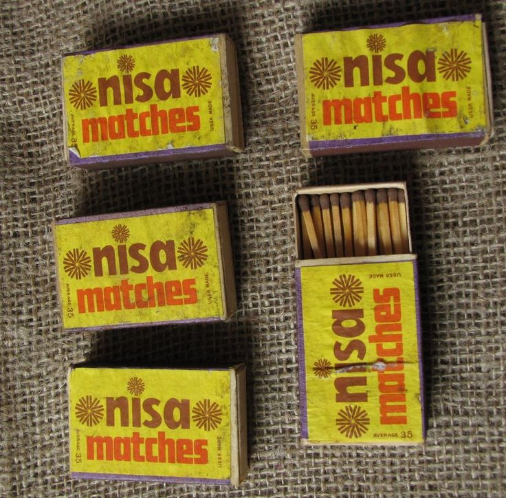 Vintage Old USSR Soviet NISA MATCHBOX with Matches Collectibles