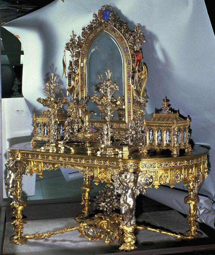 Toilette de la Duchesse de Parme.