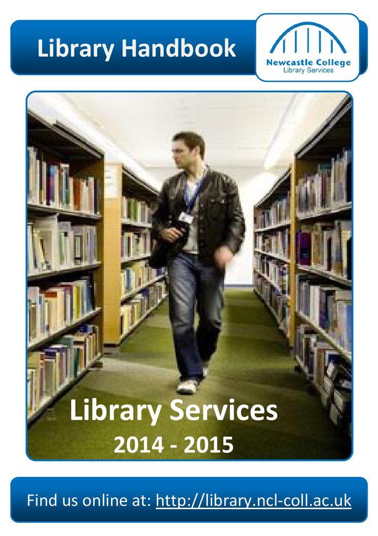 Newcastle College Library Handbook 2014-15