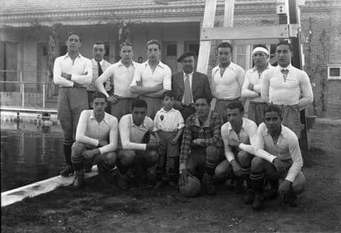 El Real Zaragoza 1936.