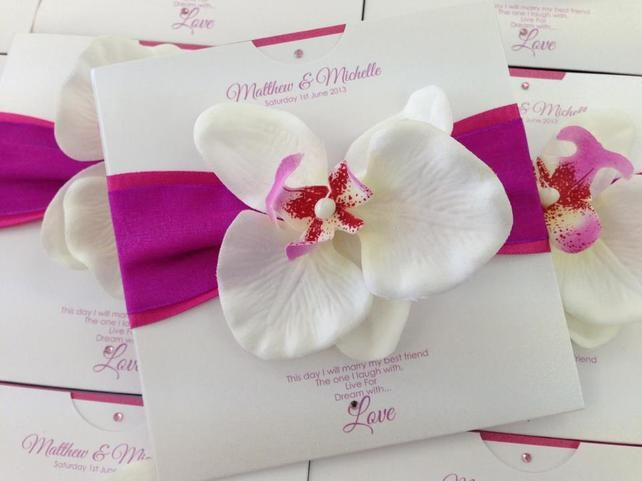 Handmade Wedding Invitations £3.25