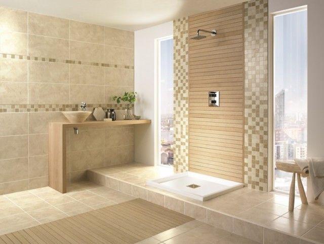 10 best Salle de bains Cec images on Pinterest Bathroom ideas - salle de bain rouge et beige