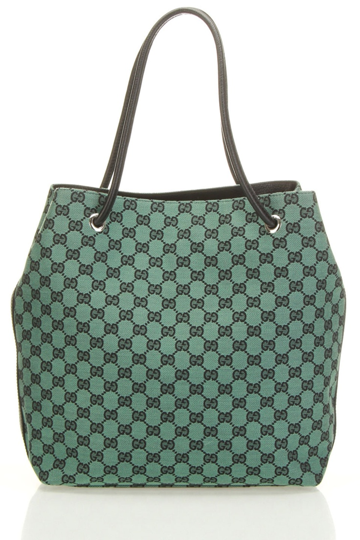 Gucci Medium GG Tote In Green