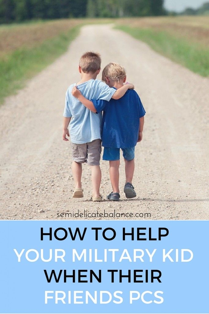 How to Help Your Kids When Their Friends PCS, for military families and kids, moving can be especially tough