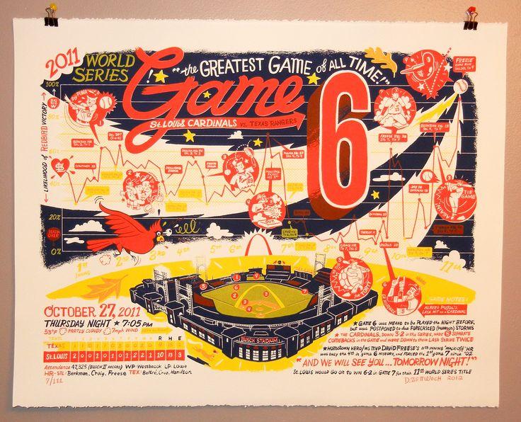 Zettwoch's Suitcase: New Print: World Series GAME 6!