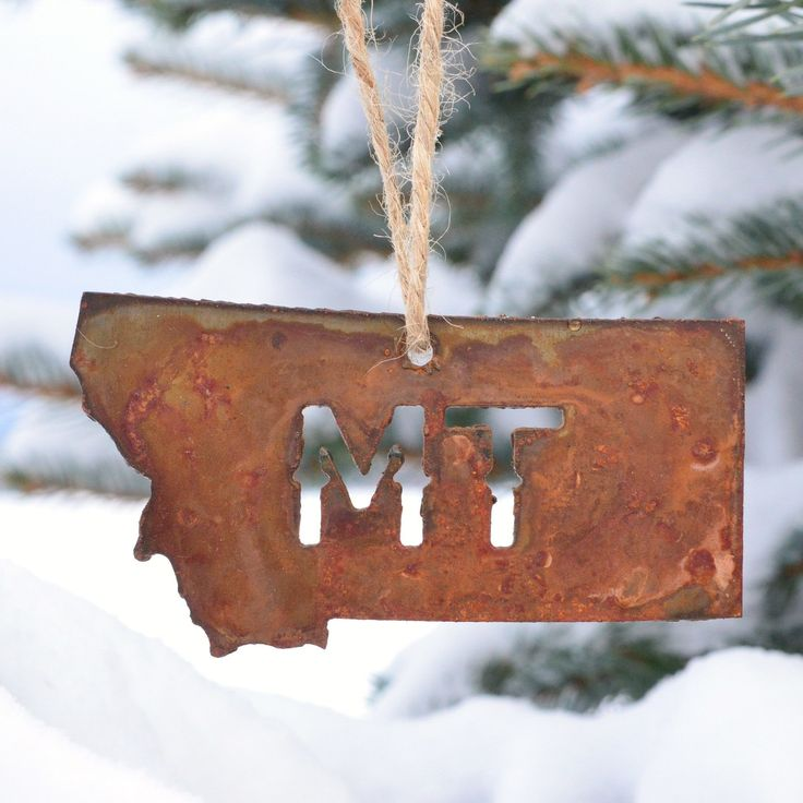 Montana Ornament from Montana Shirt Co.