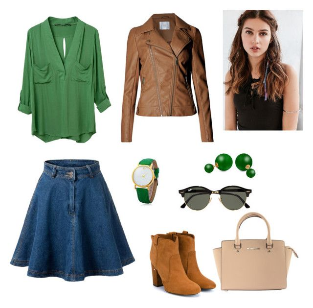 """Cowboy modern look"" by elina-fayzulina on Polyvore featuring мода, Laurence Dacade, Michael Kors, REGALROSE, Bling Jewelry, Ray-Ban и modern"