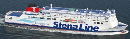 Ferry overtocht naar Engeland met de Stena Hollandica  yes, lekker af en toe naar Engeland!!