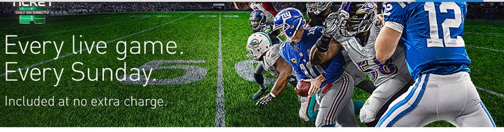 Get in the game with #NFL SUNDAY TICKET. Only on #DIRECTV http://www.offers.hub4deals.com/store-coupons?s=DirecTV