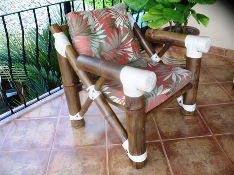 Muebles de Bambú para sala.