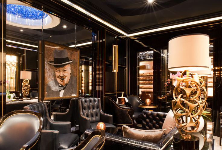 The Wellesley Knightsbridge, A Luxury Collection Hotel, London - SW1X - Cigar Lounge