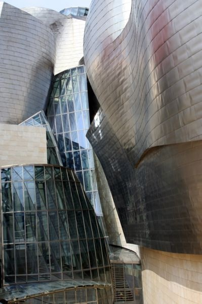 Guggenheim Museum Bilbao, Spain.  Frank Gehry, Architect #gehry