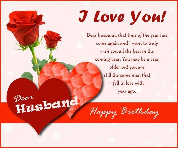 17 beste idee n over Husband Birthday Wishes op Pinterest Fijne – Birthday Card for Husband Sayings