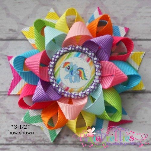 My Little Pony Loopy Flower Hair Bow