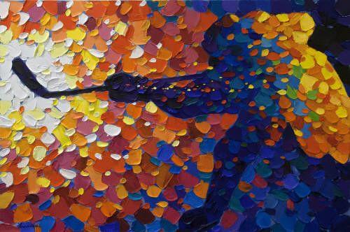 Bill Brownridge Artwork in Canada House Gallery