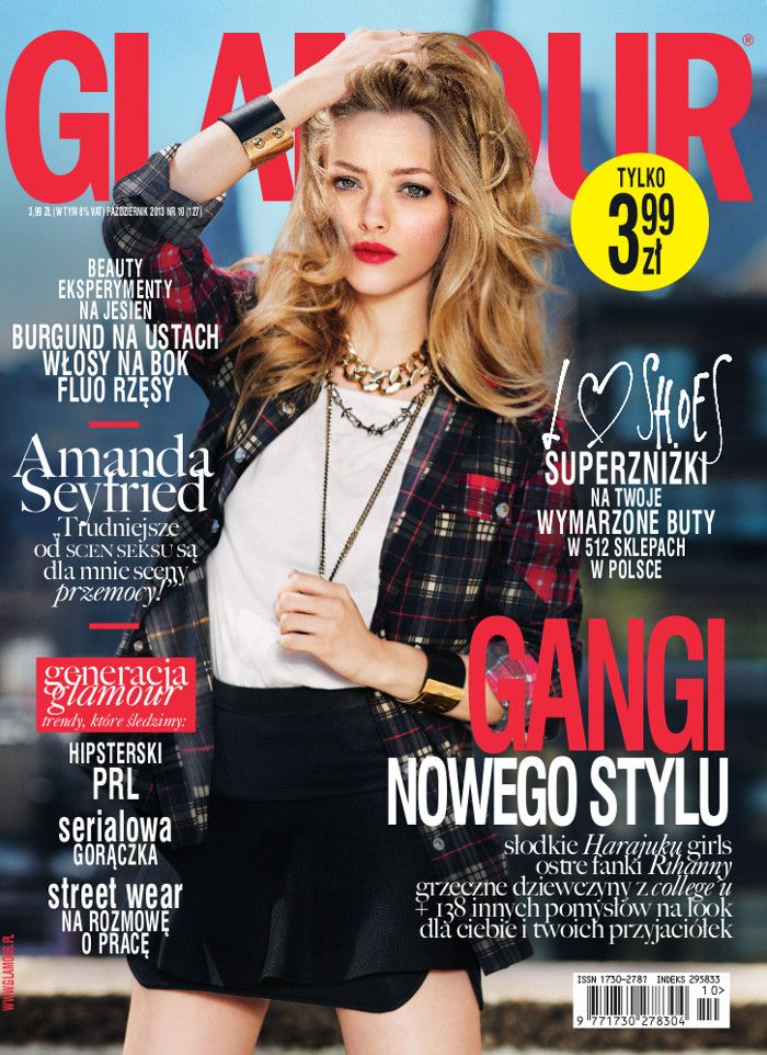 GLAMOUR POLAND OCTOBER ISSUE