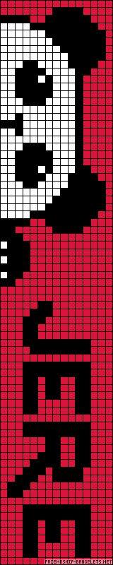 Alpha pattern A24464 / Dimensions: 75x15 / Colors: 3