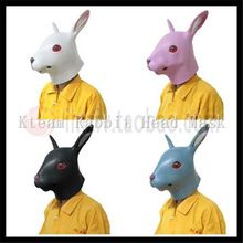 100% Latex Halloween Animal Mask Latex Rabbit Masks Fit Adult Size Realistic Rabbit Full Head Masquerade Party Cosplay Props Toy //Price: $US $17.09 & FREE Shipping //     #tshirtdesign