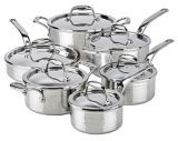 Lagostina Artiste-Clad Hand Hammered Cookware Set, 12-pc | Canadian Tire