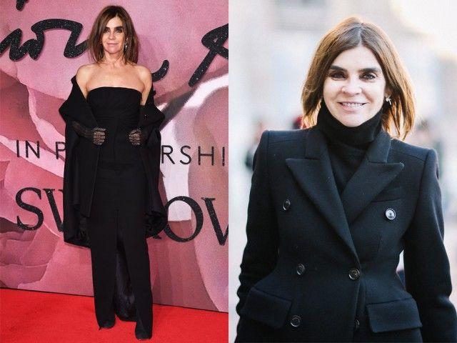 """""""Irriverent"""" è il suo soprannome: Carine Roitfeld è nota per lo stile spregiudicato e per coraggiose scelte lavorative. Nel 2010 ha abbandonato la direzione della rivista Vogue Paris per dedicarsi al progetto personale """"CR Fashion Book"""" (fondato nel 2012)."""