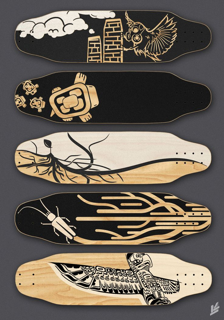 skateboard grip tape art more