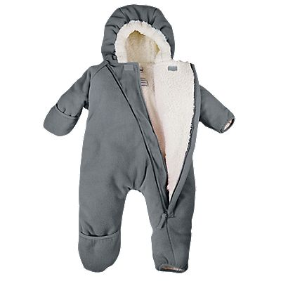 $30 Cozy Cub Fleece Bunting, Baby Snowsuit - One Step Ahead Baby