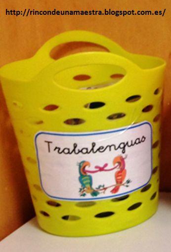 Ya os enseñé las cestas con poemas, trabalenguas, retahílas... que tengo en mi aula. Hoy comparto algunas tarjetas que he añadido a la cest...