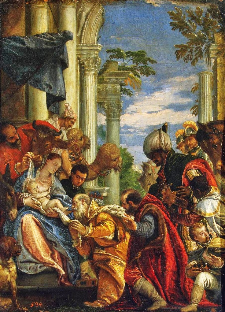Paolo Veronese - Adoration of the Magi