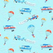 Flying Academy - neatdesigns - Spoonflower