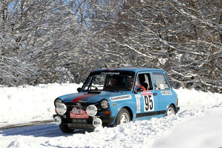 A112 Abarth au XVII ème Rallye Monte Carlo Historique 2014